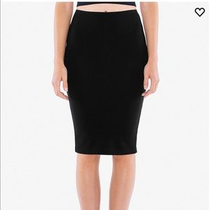 American Apparel Pencil Skirt
